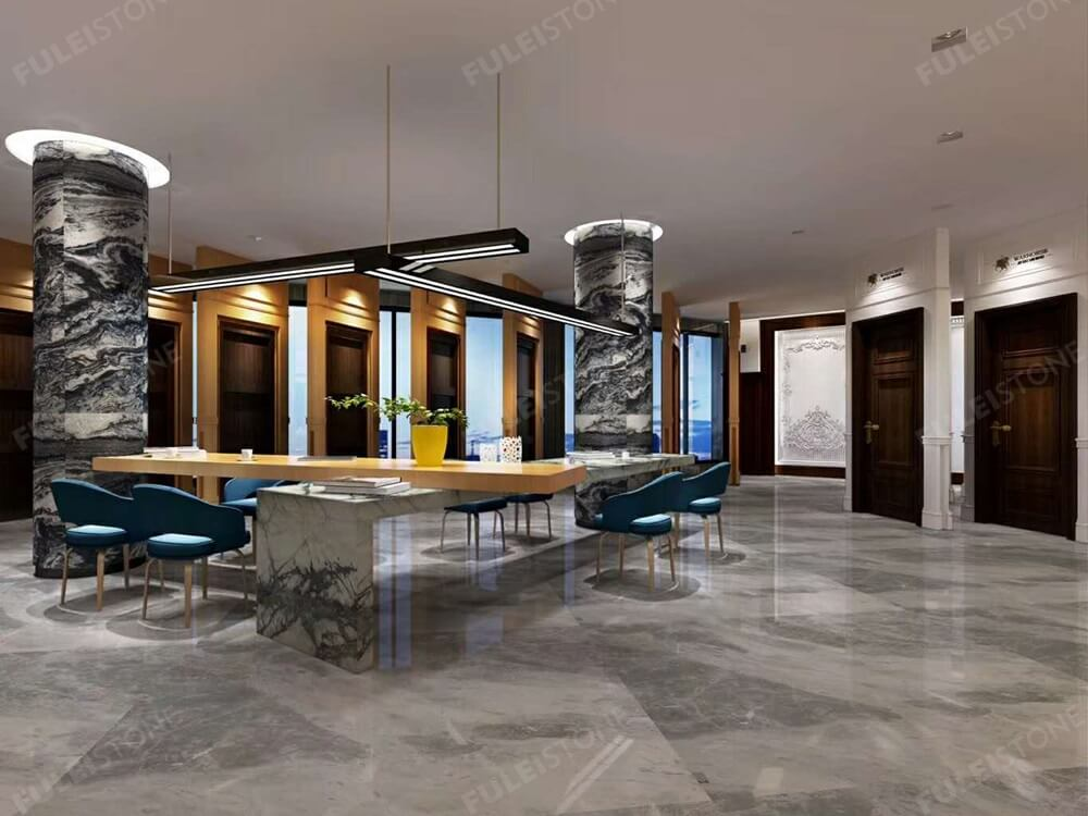 Aquila Marble Flooring Tiles