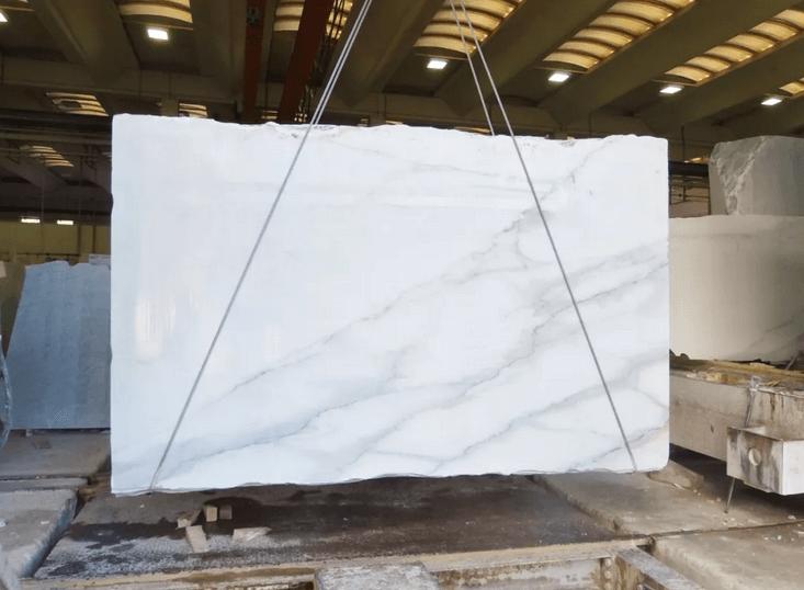 Calacatta Lincoln Marble Slabs