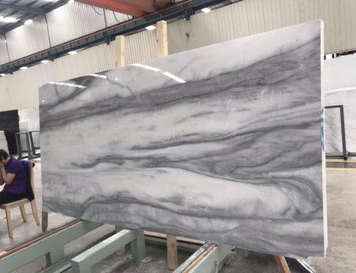 No.HJ18044 Cloudy Misty Marble Slabs