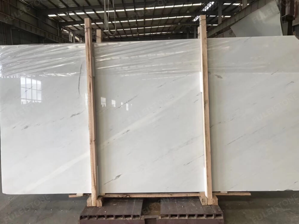 Instock No. JHH-2654 Bianco Sivec Marble Slabs