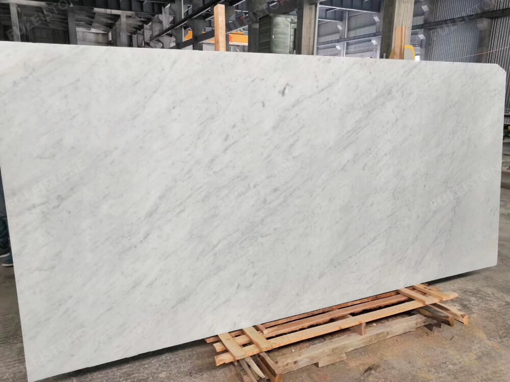 Instock bianco carrara marble slab vgb235