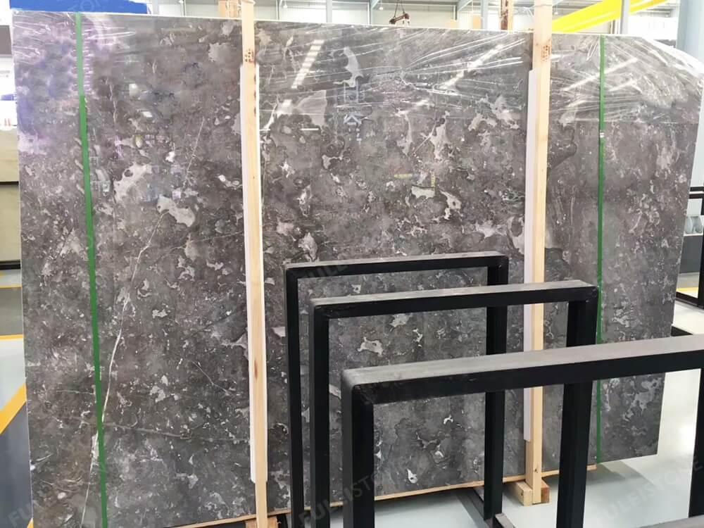 Romantic Grey Marble Slab