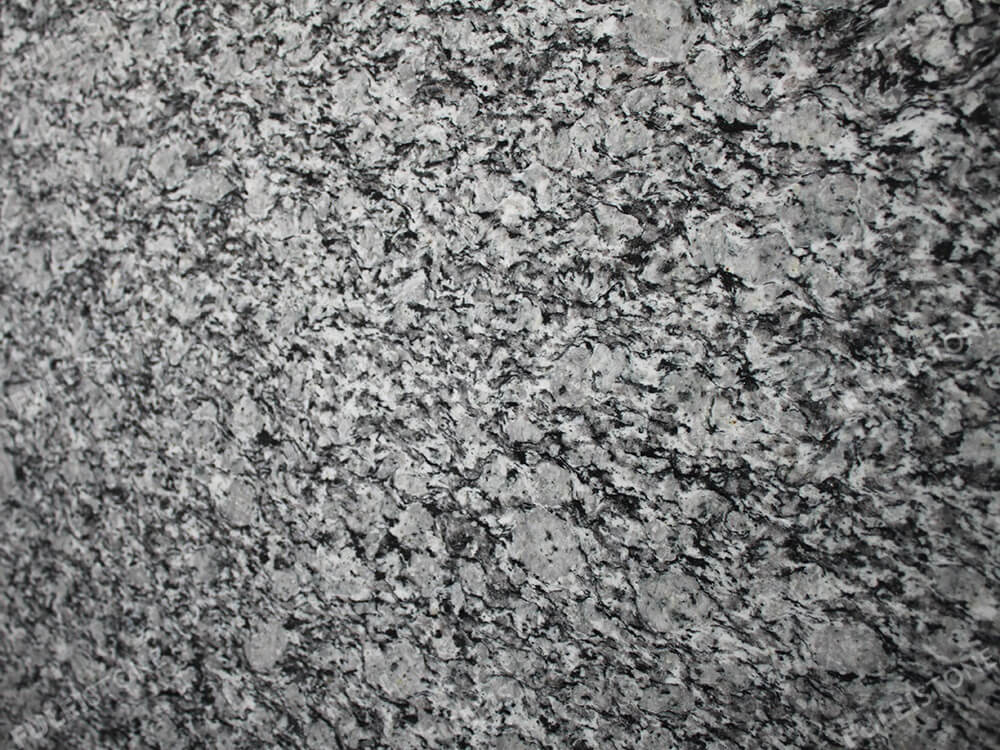 Wave White Granite Countertop