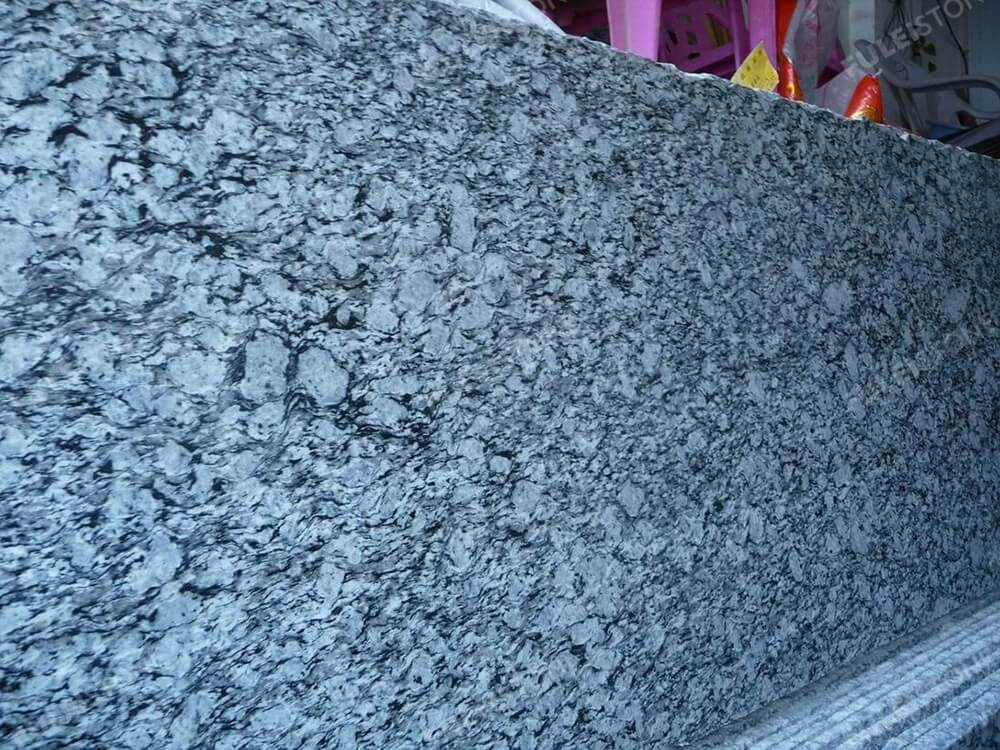 Wave White Granite Images