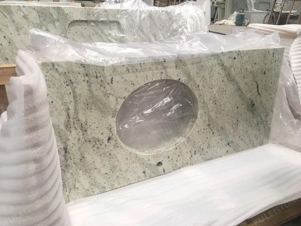 Andromeda White Granite Kitchen