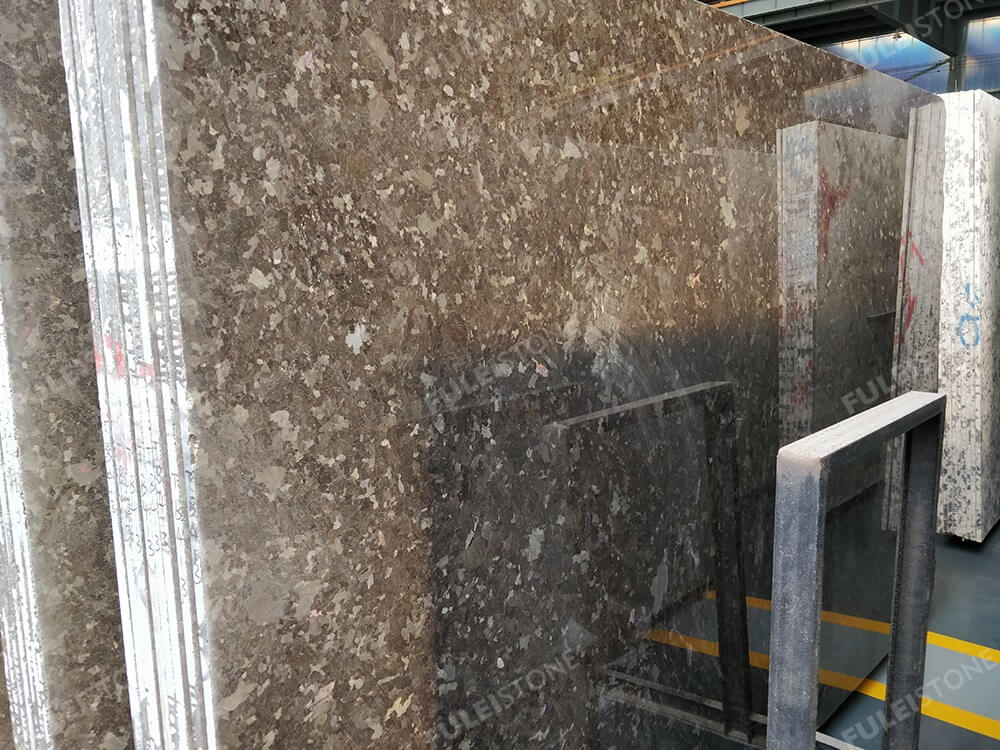 Antique Brown Granite Slab