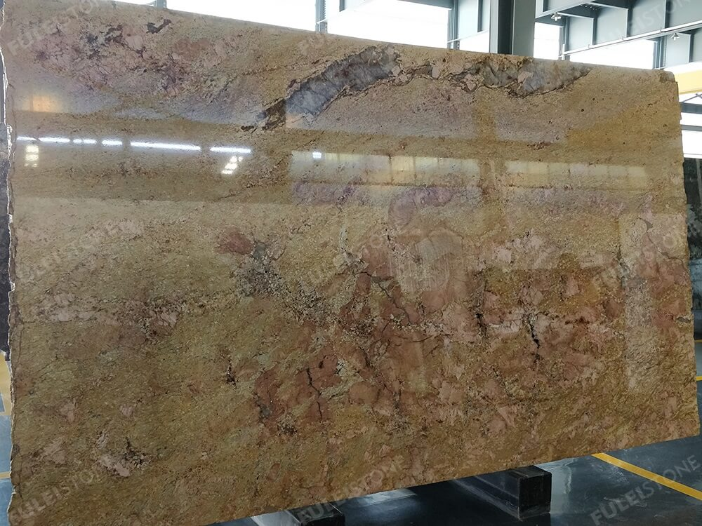 Cafe Creme Granite Slab