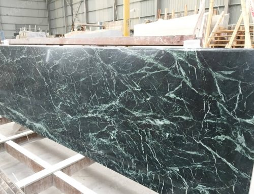 Dark Green Marble Countertops