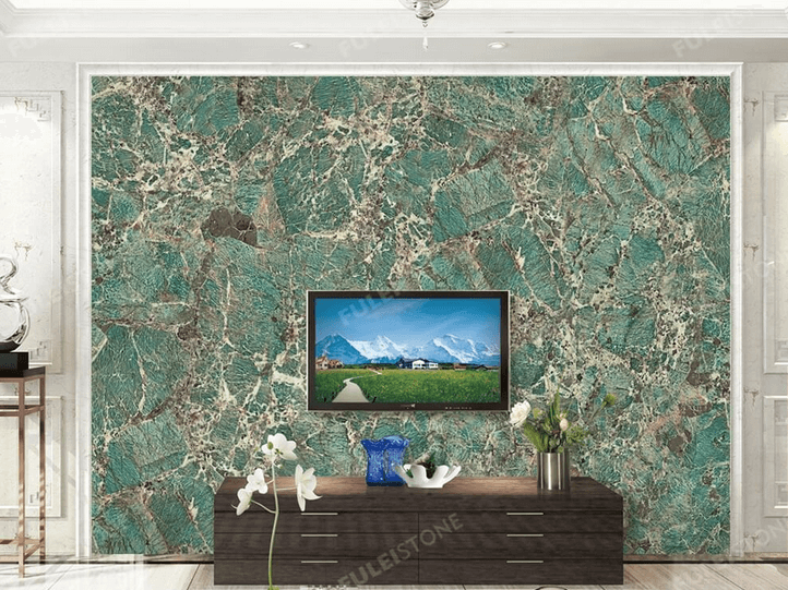 Green Granite for TV wall