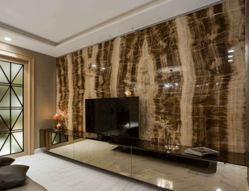How to Design The Marble TV Wall