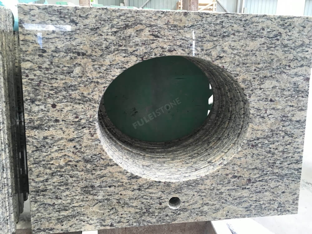 Light santa cecilia granite