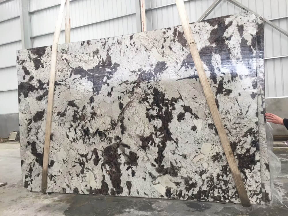 Royal White Granite Slab