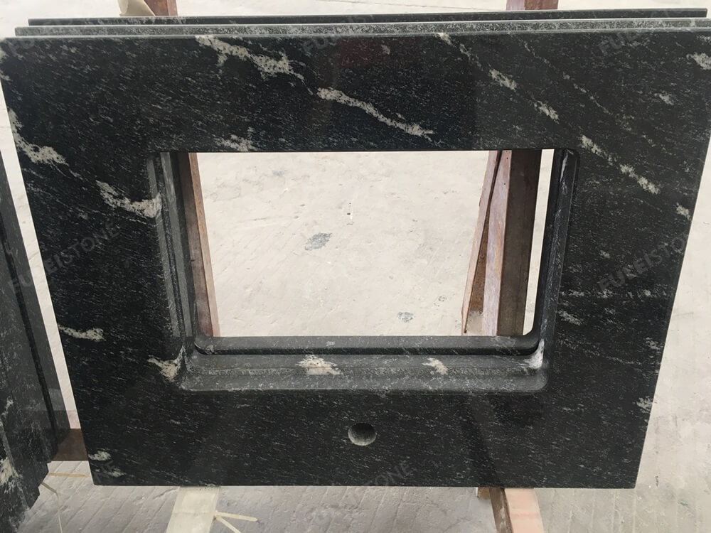 Snow Grey Granite Vanity top