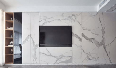 How To Design The Marble Tv Wall Marble Granite Or Onyx
