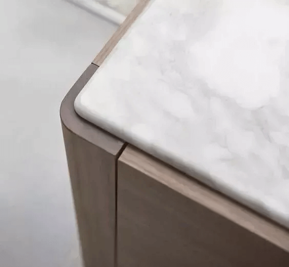 close up design of desk and marble