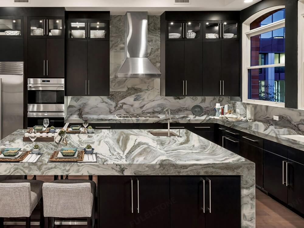Avalanche Marble Countertop
