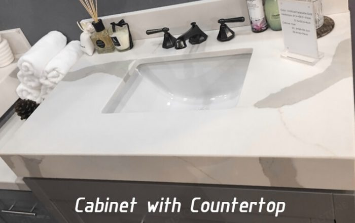 Cabinet with Countertop