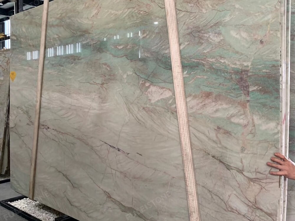 Emerald Green Quartzite Polished