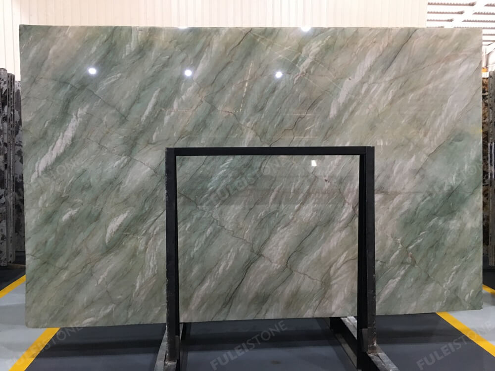 Emerald Green Quartzite Slab