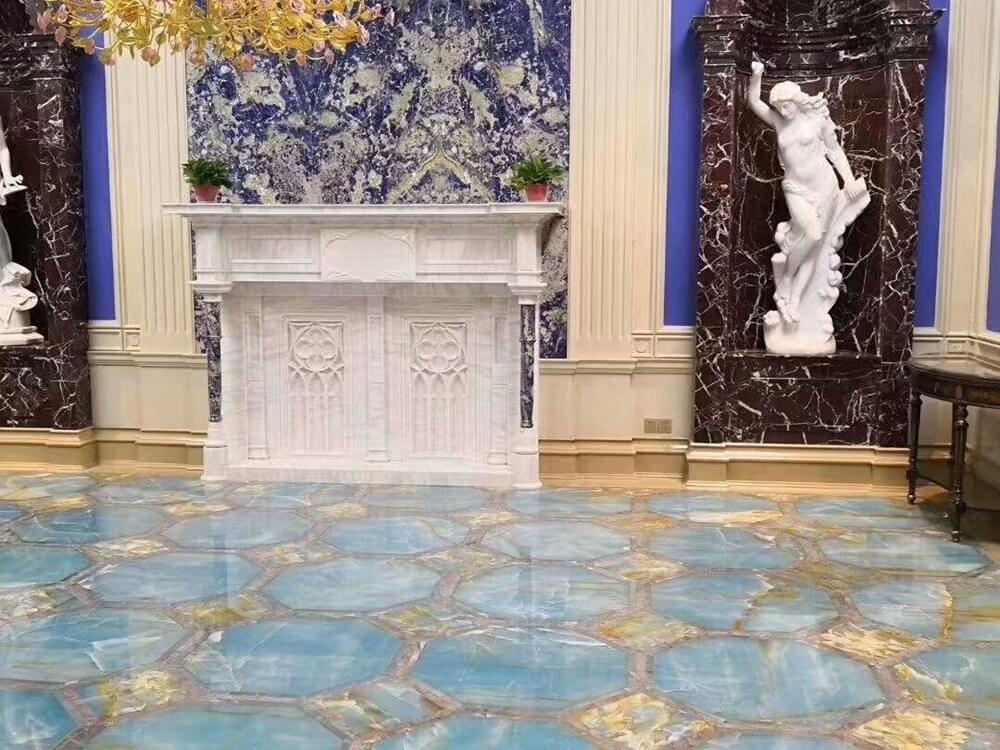 Blue Onyx Flooring