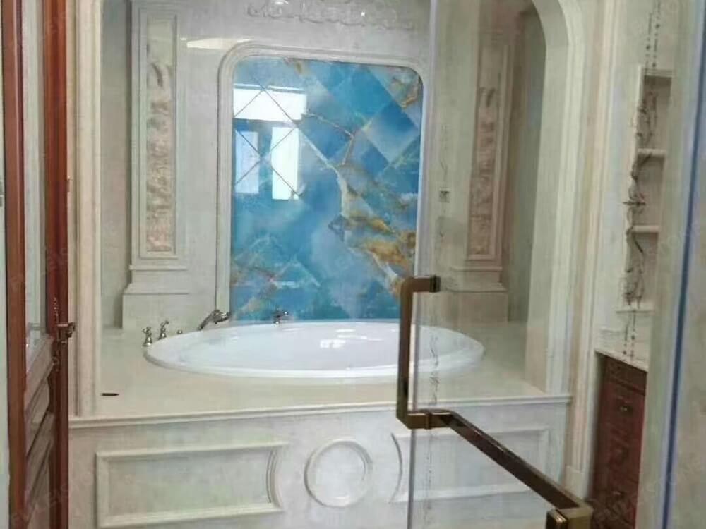 Blue Onyx for Bathroom