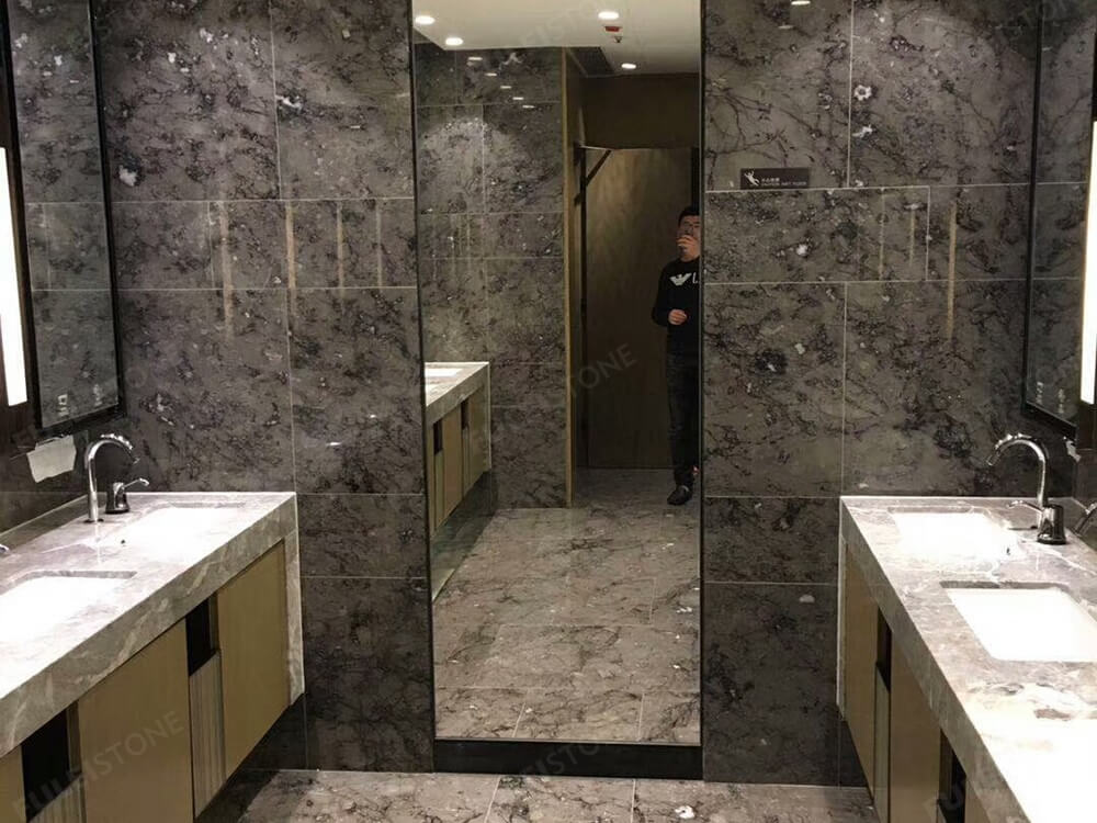 Grey Marble Bathroom