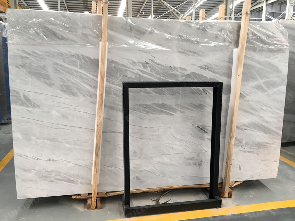 Instock NO. FG067621 Lais Grey Marble Slabs