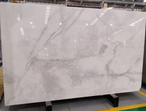 Instock NO.NH25145 Turkish White Marble Slabs