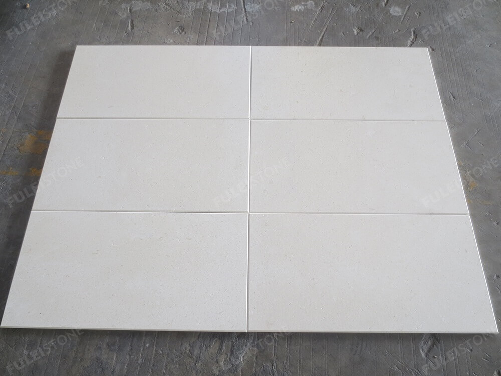 Polished White Lymra Limestone Tiles
