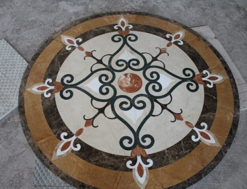 How to Produce The Waterjet Marble Tile and Medallions