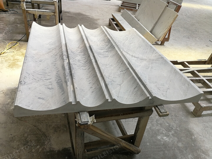 3D Carved stone products of lais grey