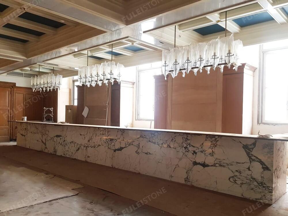 Arabescato Bar Top