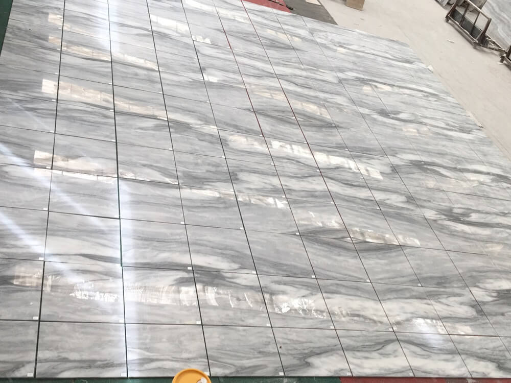 Cloudy Misty Marble Tiles