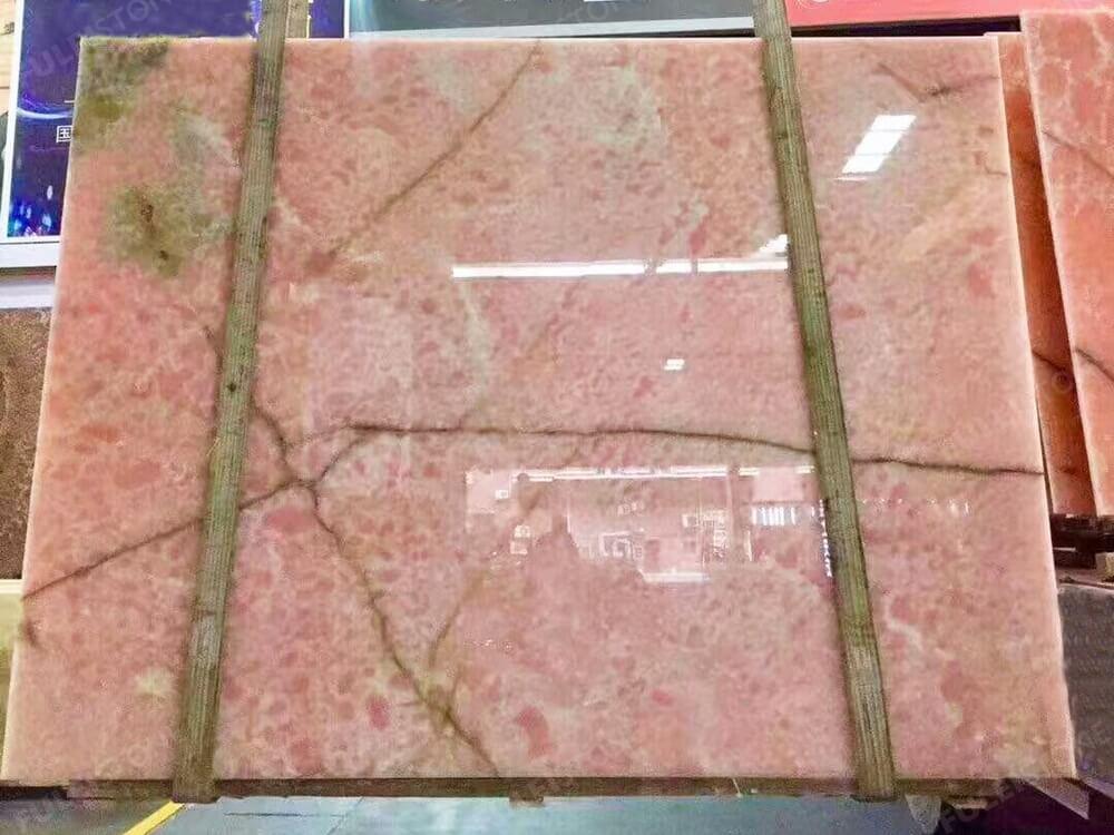 Pink Onyx Polished