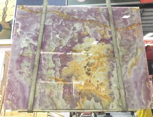 Purple Onyx Slab