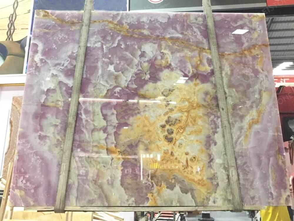 Purple Onyx Slab