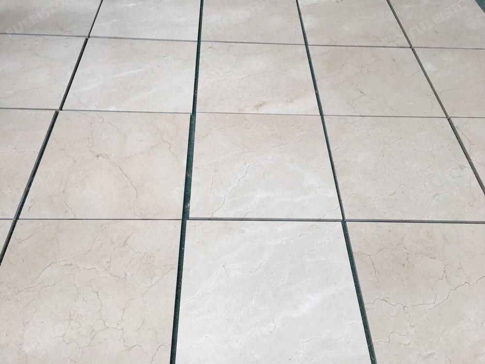 crema marfil marble tile 24''x24''