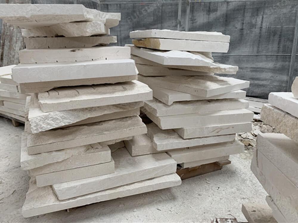 limestone breakage