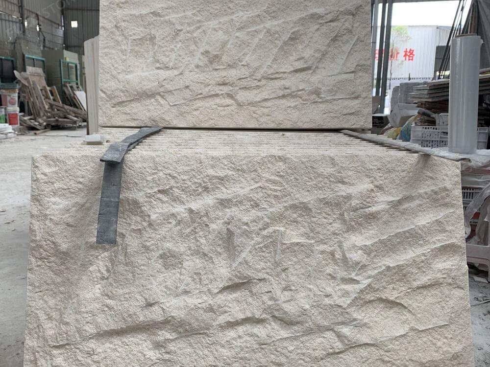 split face limestone