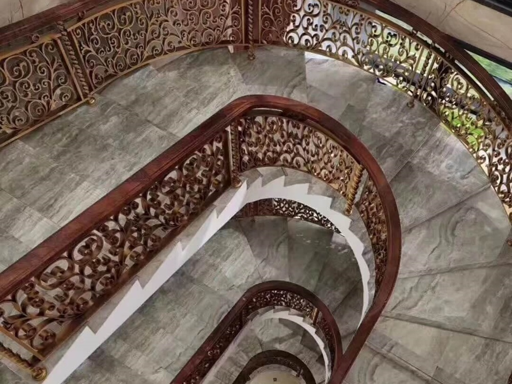 Diana Grey Marble Stairs