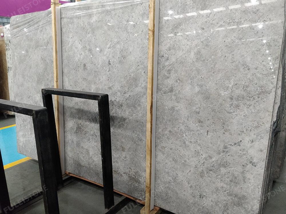 New Tundra Grey Marble Slab
