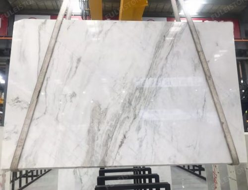 Chinese Jazz White Marble
