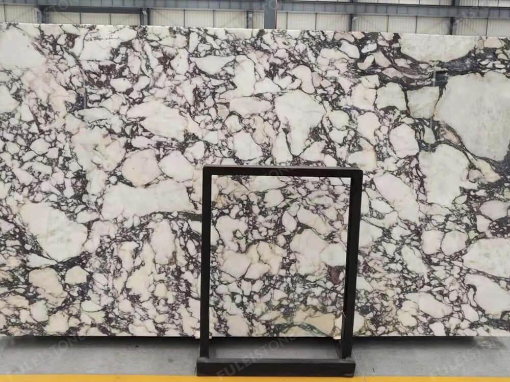 Italian calacatta viola marble