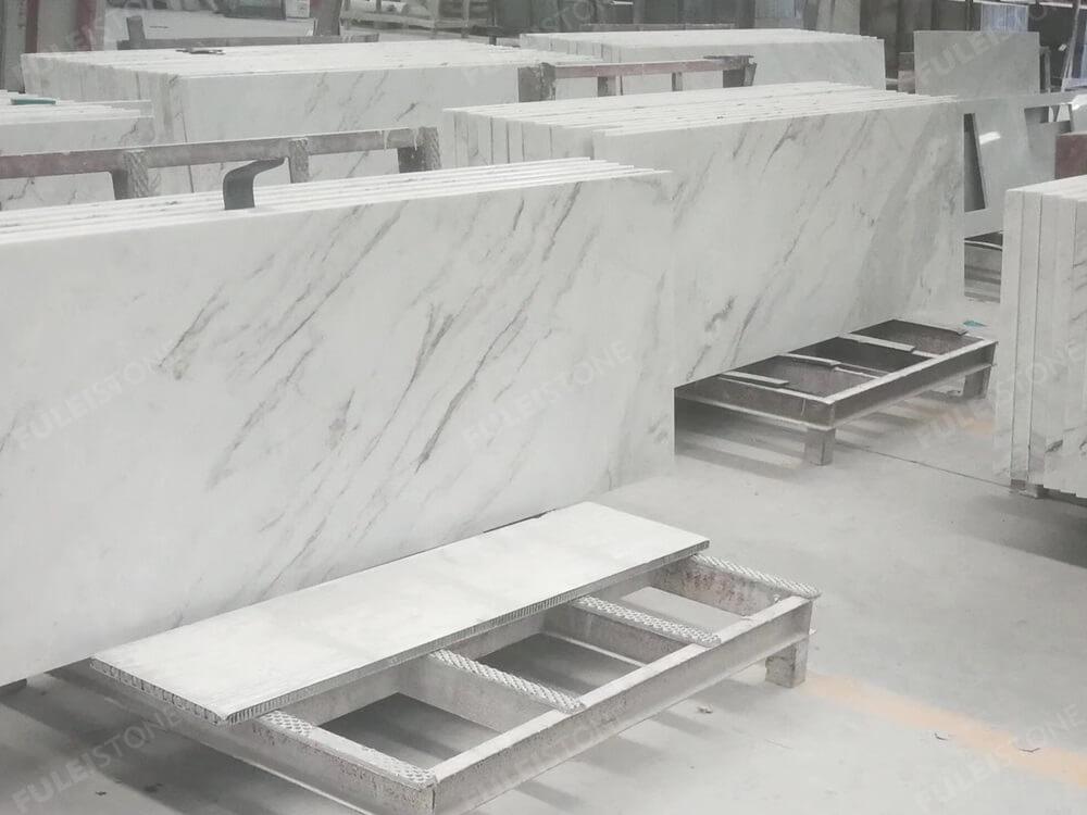 Jazz White Marble Countertop