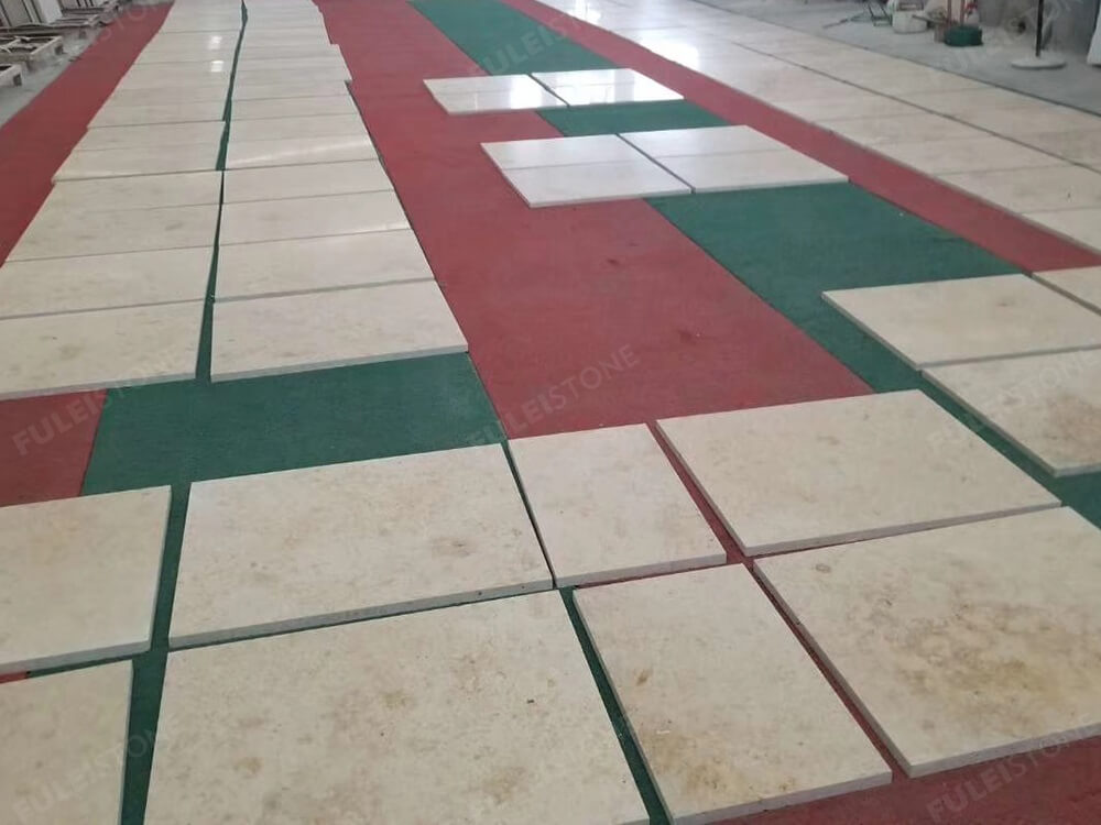 Jura Beige Limestone Tiles Dry Lay