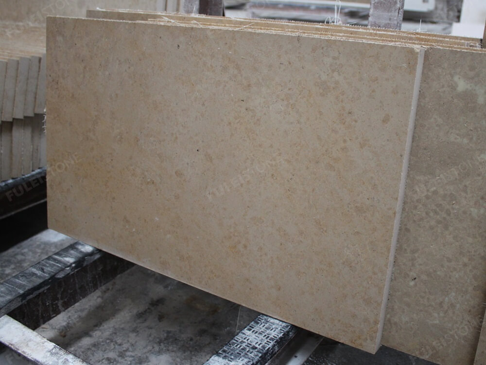 Polished Jura Beige Limestone Tiles