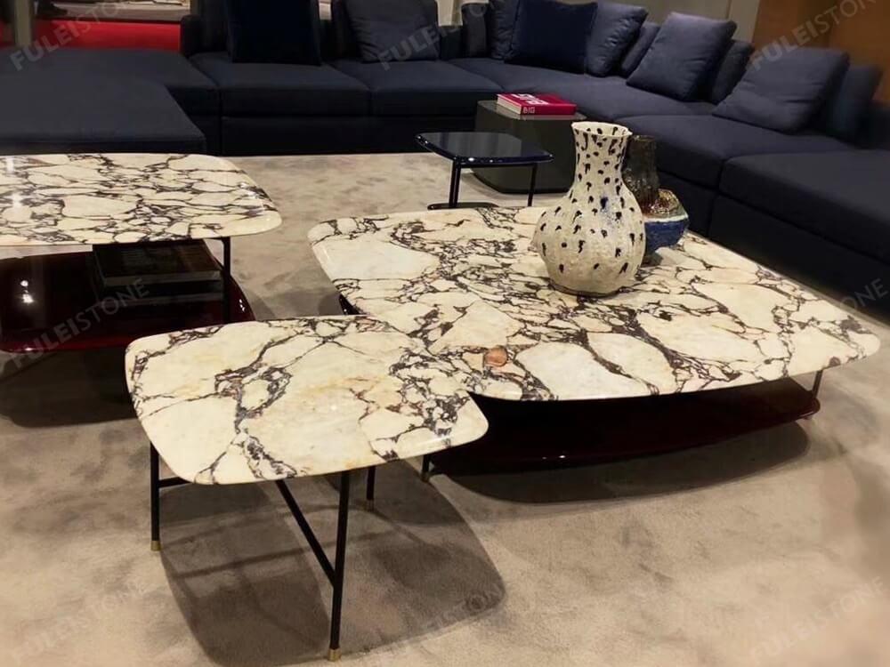 calacatta viola marble countertop