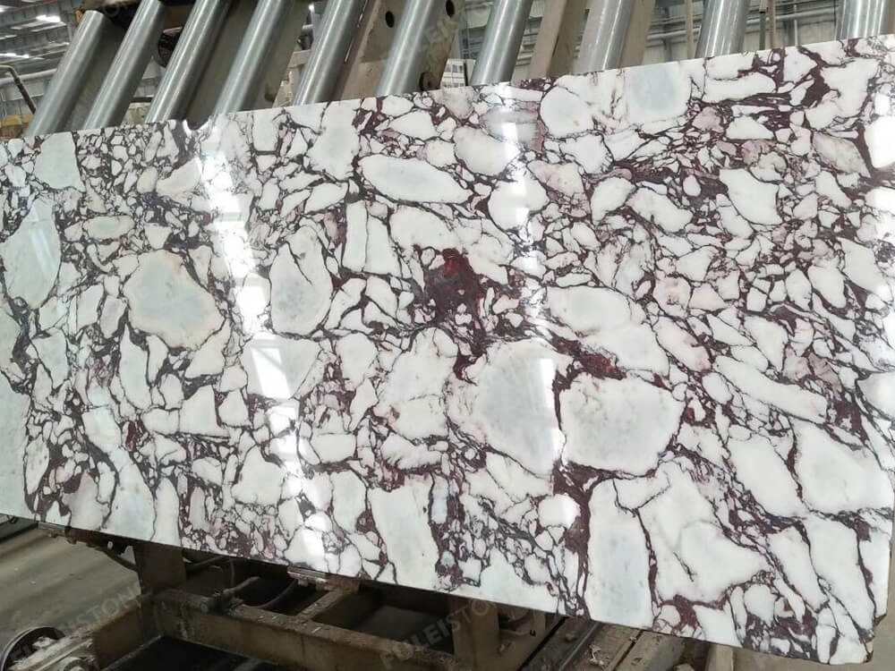 calacatta viola marble polished