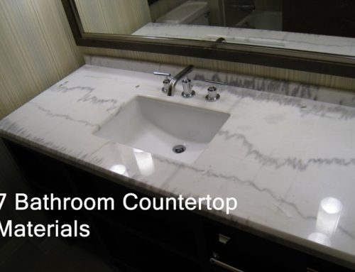 7 Bathroom Countertop Materials – Advantages and Disadvantages