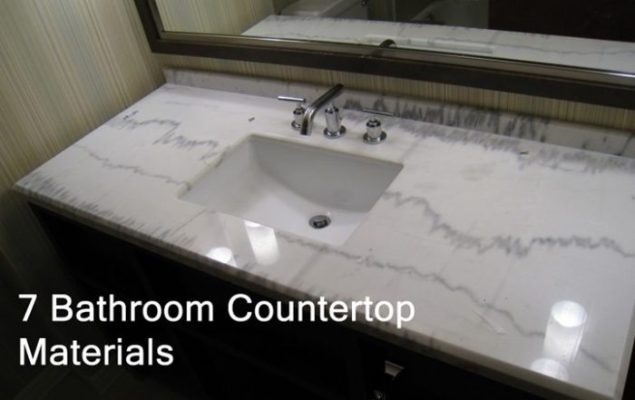 Bathroom Countertop Materials